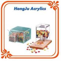 Wholesale clear acrylic box with dividers from china suppliers