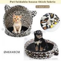 Buy cheap Fanshion Leopard Desigh Cat Tent from wholesalers