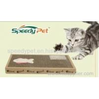 Buy cheap Corrugated Cat Scratcher Board Pet toys from wholesalers