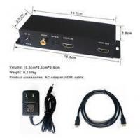 China 3840 X 2160P 4K Digital Signage Player HDMI SPDIF Switch Box For Hotels on sale