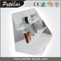 China clear 3 tier acrylic display stand for cigarette wholesale