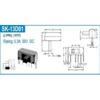 Wholesale SLIDE SWITCHES SK-13D01 from china suppliers