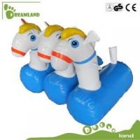 China inflatable horse inflatable pony hop racing wholesale