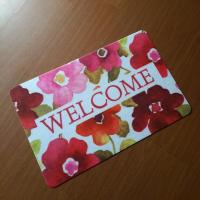 China Welcome door mat on sale
