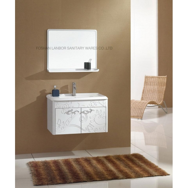 model hot cheap wood bathroom cabinet fl032 images view