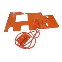 China Custom Silicone Rubber Hot Pad 12V Manufacturer wholesale