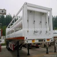 China PZ25-4000-610 type CNG Storage jumbo Cylinder Skid-Mounted Transportation equipm wholesale