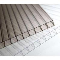 Clear polycarbonate hollow sheet/transparent polycarbonate hollow sheet