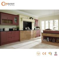 China modular kitchen cabinet color combinations wholesale