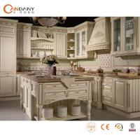 China Foshan wholesale customed wood textured kitchen cabinet wholesale