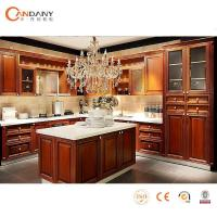 China Fashionable Design Contemporary solid wood Kitchen Cabinet,water resistant kitchen cabinet wholesale