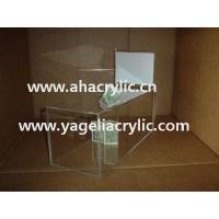China perspex donation box wholesale