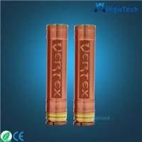 China 2015 hottest e cigarette mechanical mod clone Vertex mod e cig wholesale