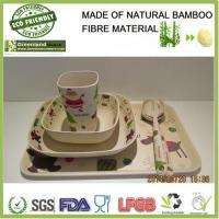 China Christmas's series bamboo fibre resturant and home dinner set wholesale