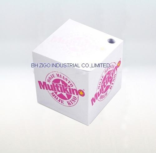 Quality Memo Cube with Pen Hole for sale