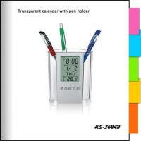 China pen holder clocks HS-2684B wholesale