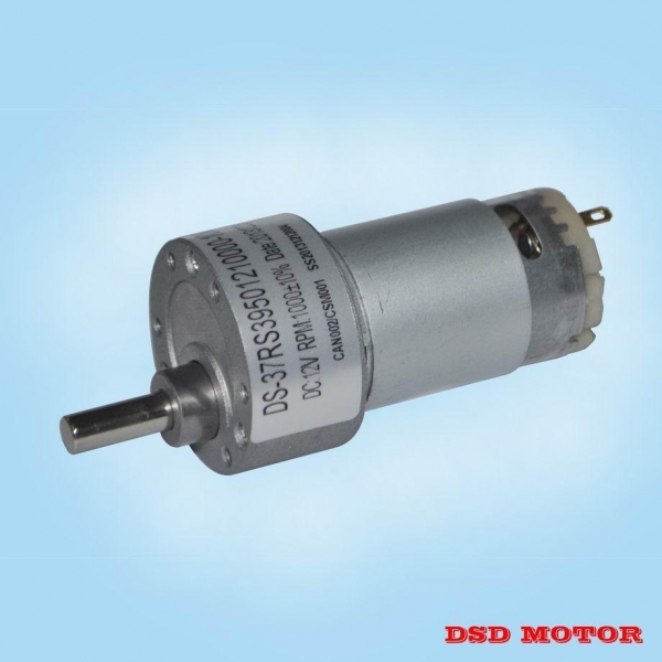 Ds 37rs520 37mm 12v 24v Dc Electric Motor With Gear