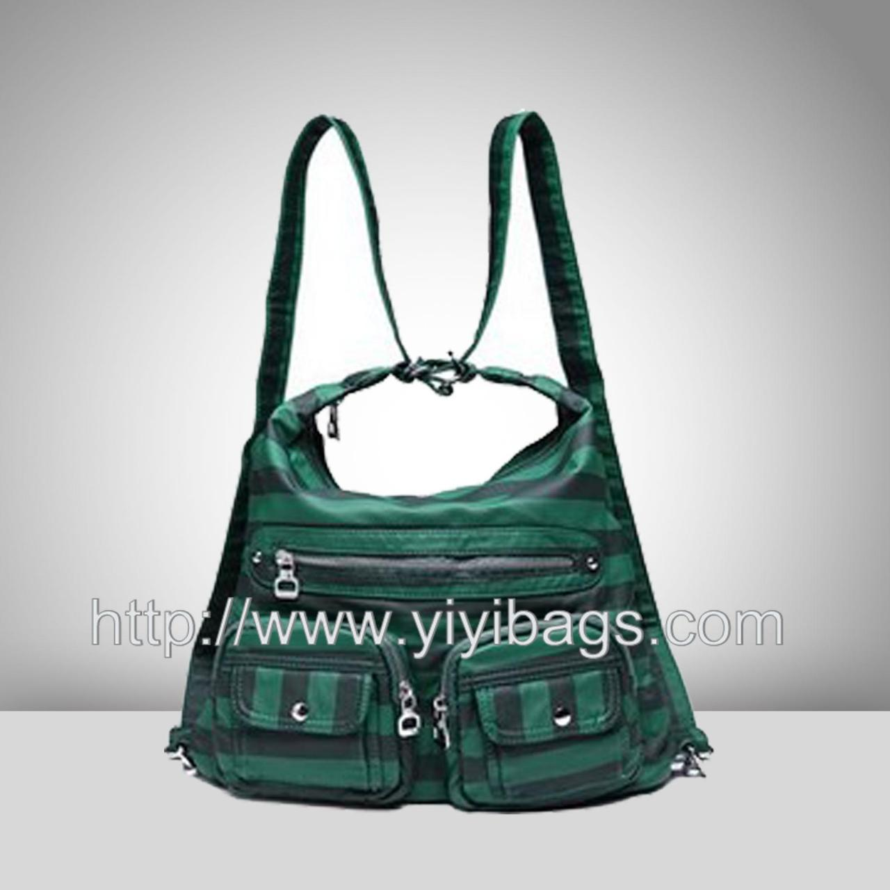 China J087-2014 bag nylon bag,zipper nylon tote hand bag wholesale