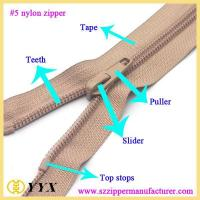 China Dress nylon zipper clothing nylon zipper|nylon zipper factory wholesale