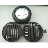 China tyre shape packing hand tools kits wholesale