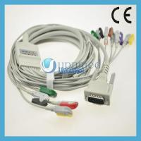 China Schiller EKG cable with 12 leadwires,clip type,U225-11CI wholesale