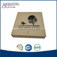 China Wooden storage box with lid wholesale