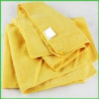 China Wholesale Black Friday Microfiber Yellow Towel For Christmas wholesale
