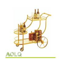 China hotel lobby supplies FC-116 LIQUOR TROLLEY wholesale