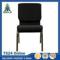 China modern stackable padded church chairs for sale wholesale