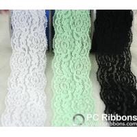 China Lace Good quality DIY accessories elastic lace headband wholesale