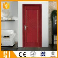 China 2015 updated designed pattern carved solid wooden door for room on sale