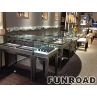 China luxury wooden glass showcase for jewellery ,jewelry display counter for sale display for jewelry wholesale
