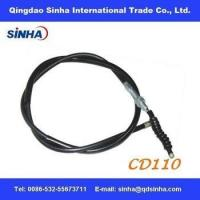China chrome plated CD110 motorcycle clutch cable wholesale