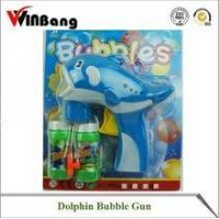 Cartoon Dolphin Bubble Gun with Light and Music