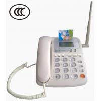 Buy cheap GSM Fixed Wireless Phone Dual SIM Cards Desktop P from wholesalers