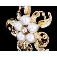 China Fashion Exquisite Handmade Olivet Flower Brooch wholesale