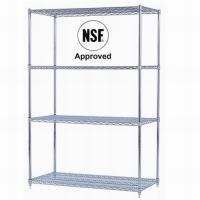 China Checkout/Cashier Counters MJY-FWS-01 Chrome wire shelving wholesale