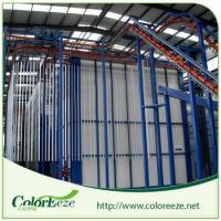 China Street Price Complete Vertical Powder Coating Line Powder Painting Line wholesale