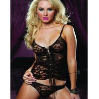 Wholesale S-3XL Resist Me Cami and Thong SetW166606 US$4.85 from china suppliers