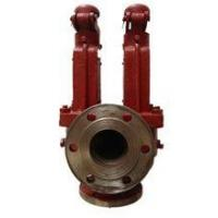pressure safety valve Flanged bronze right angle safety valves