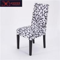 China Spandex computer office event wedding party short chair cover wholesale