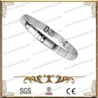China High Polished 316L Stainless Steel Magnetic Bracelet,Good For Health wholesale