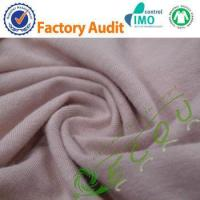 China eco-friendly knitted hemp cotton blend fabric wholesale