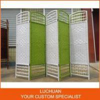 Fashionable China Supplier Handcraft Straw Room Divider Screen
