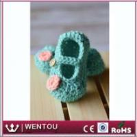 China Free Crochet Pattern Baby Booties wholesale