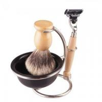 China New arrival China beaver hair shave brush for men on sale
