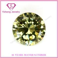 Buy cheap Cubic Zirconia(CZ) 10mm Stock Gemstone Olive Cubic Zirconia Price from wholesalers