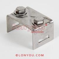 Buy cheap Double Bolts Straight Leg Brackets from wholesalers