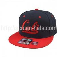 China Snapback Cap 6 Pannels adjustable embroidered summer sports flat cap wholesale