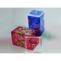 Wholesale Color Acrylic Tea Box from china suppliers